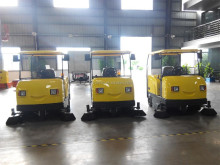 Electric Ride on Industrial Street Sweeper for Sale