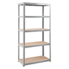 1800 x 900 x 300 Budget Chipboard Shelving