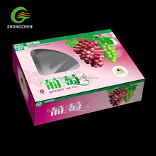 Custom safe food packaging corrugated fruit carton box for Mango packaging