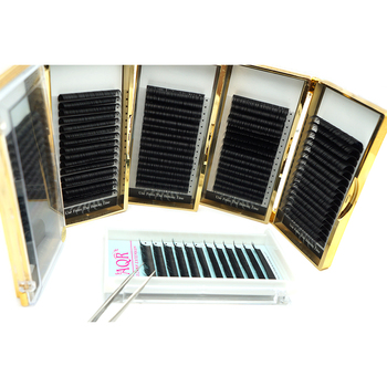 Custom Box 0.05mm0.07mm0.10mm0.15mm0.20mm individual eyelash extensions