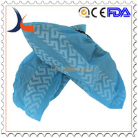 disposable anti-skid pp blue shoe cover