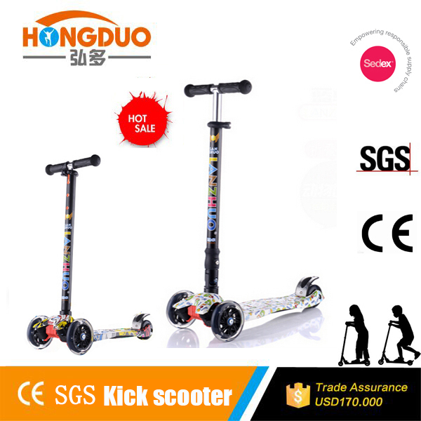 Popular sale water scooter /easy folding kids scooter for kids
