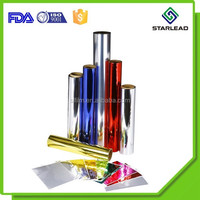 Good Thickness Colorful Metallic PET Laminating Film From Wenzhou