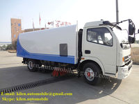 Vacuum road sweeper truck for sale