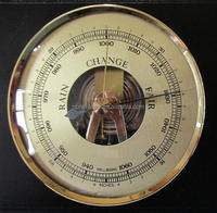 Brass Aneroid Barometer Mechanical Barometer Dia.90mm