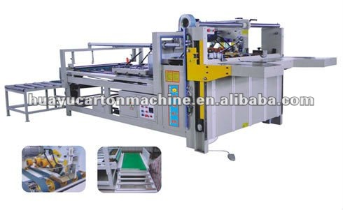 WEM/02 Series semi-auto carton gluer manufacture machine