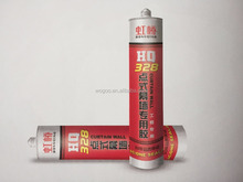 Silicone sealant for curtain