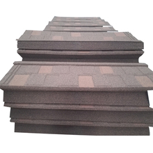 Eco-friendly good reputation cheap price stone coated metal steel roof tile