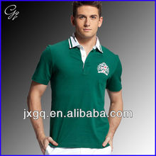 Wholesale embroidery custom design maker 2013 fashion style polo shirt for men