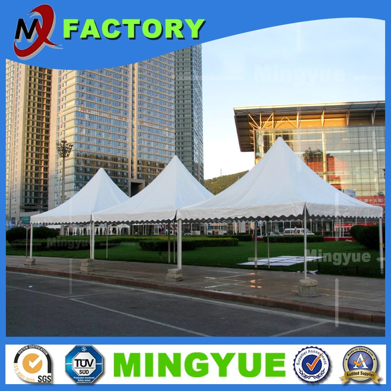 2016 fashion design Wedding trade show event clear span marquee giant fireproof party pagoda tent