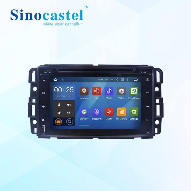 1080P Full HD Video player dual core android car audio mp5 for GMC YUKON 2007-2012