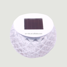 Hot Sale Small Glass Solar LED Jar LED Light