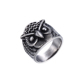 15485 xuping jewelry men's ring stainless Steel An owl ring