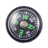 mini portable pocket plastic compass 15mm/compass for luggage bags