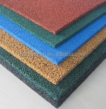 Colored epdm chips/epdm rubber granules for sports flooring surface