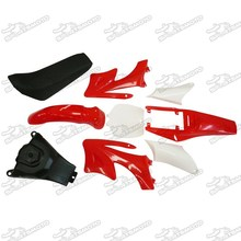 47cc 49cc Apollo Mini Dirt Bike Plastics Body Seat Tank Set