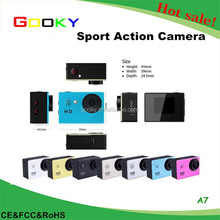 Hot sale outdoor exercise waterproof hd 720p mini dv sport camera