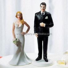 Wholesale High Quality Wedding Resin Cake Topper Fingurine Anniversary Cake Decoration