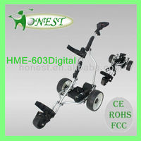 Electronic Powerful Motorized Golf Caddy with Golf Accessory (HME-603Digital)