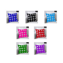 latest design pattern throw pillow case wholesale cheap linen cushion cover with washable