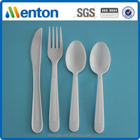 China factory direct sales high quality disposable plastic dinnerware set