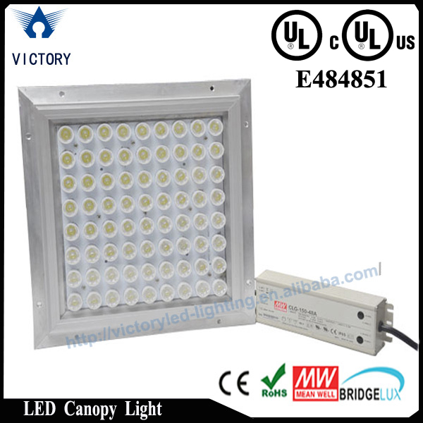 Energy saving UL certificate 70w led gas station canopy lights