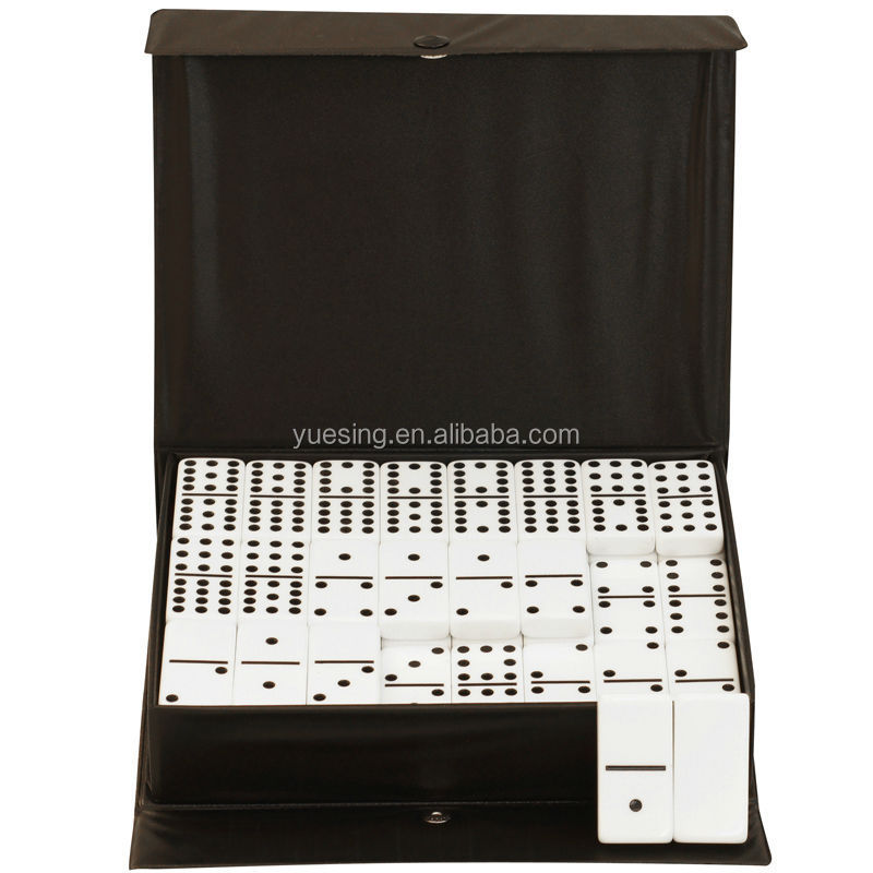Guangzhou Manufacture Double Twelve Custom Made Dominos Set