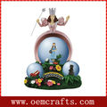 OEM Pretty Fairy Resin Snow Globes Wholesale