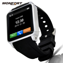 Wrist watch mobile phone waterproof android Bluetooth gsm gps camera small watch mobile phone