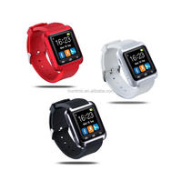Bluetooth Smart Watch U80 BT notification Wearable Wristwatch for iPhone 4/4S/5/5S Samsung S4/Note 2/3 Android phone