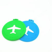 New product on china market waterproof silicone luggage tag for travel