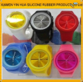 High quality Chirstmas Promotional silicone jelly watch