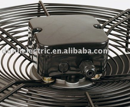 Axial Fan with external rotor motor for Air Conditioner (CE CCC ROHS Certificated)