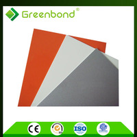 Greenbond certificate authentication acp outdoor sign board material panel
