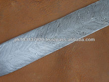 Hand Forged Damascus Steel Billet Knife Making Supplies