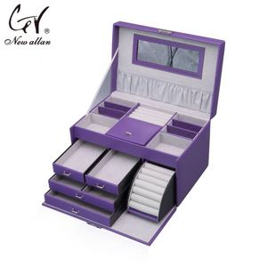 Best jewelry trinket box rolling jewelry case