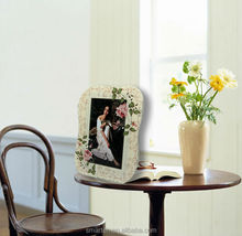 4X6 inch flower glass funia photo frame