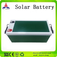 12V 200AH Recharge VRLA Lead acid battery for home solar systems