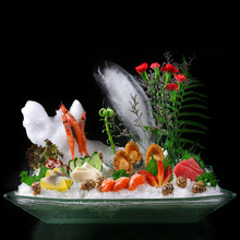 Rectangle acrylic display sushi plates and dishes,plastic plate,sushi tray