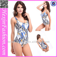 NO MOQ New Style Fashion Girls Sexy One-piece Swimsuit Sex
