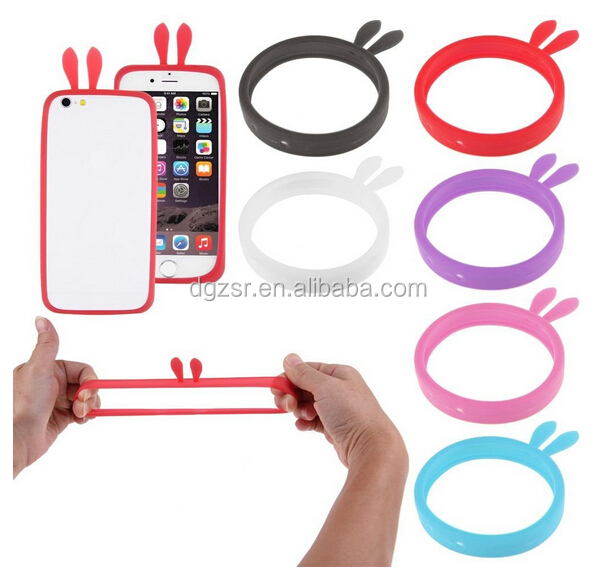 2015 Christmas gift universal silicone bumper case for most mobile phone