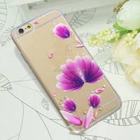 2016 hot selling cheapness slim tpu&pc mobile phone case for iphone 6 6s