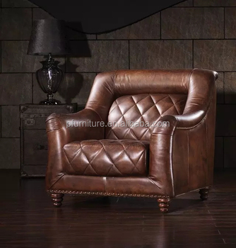 CD0808-1 American style classic good Quality wooden PU/ leather furniture sofa set