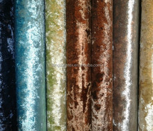 Curtain Fabric/Ice-flower Velvet