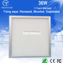 AC110-240V 36w wall mounted led panel light for American market