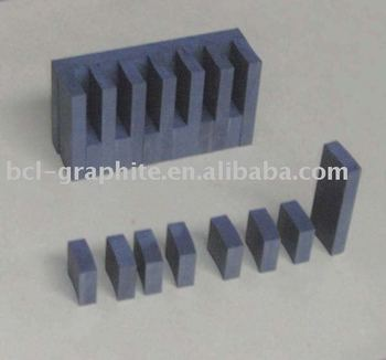 Graphite mould material machining part