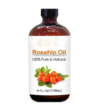 OEM factory organic rosehip essential oil for face, nails, hair and skin
