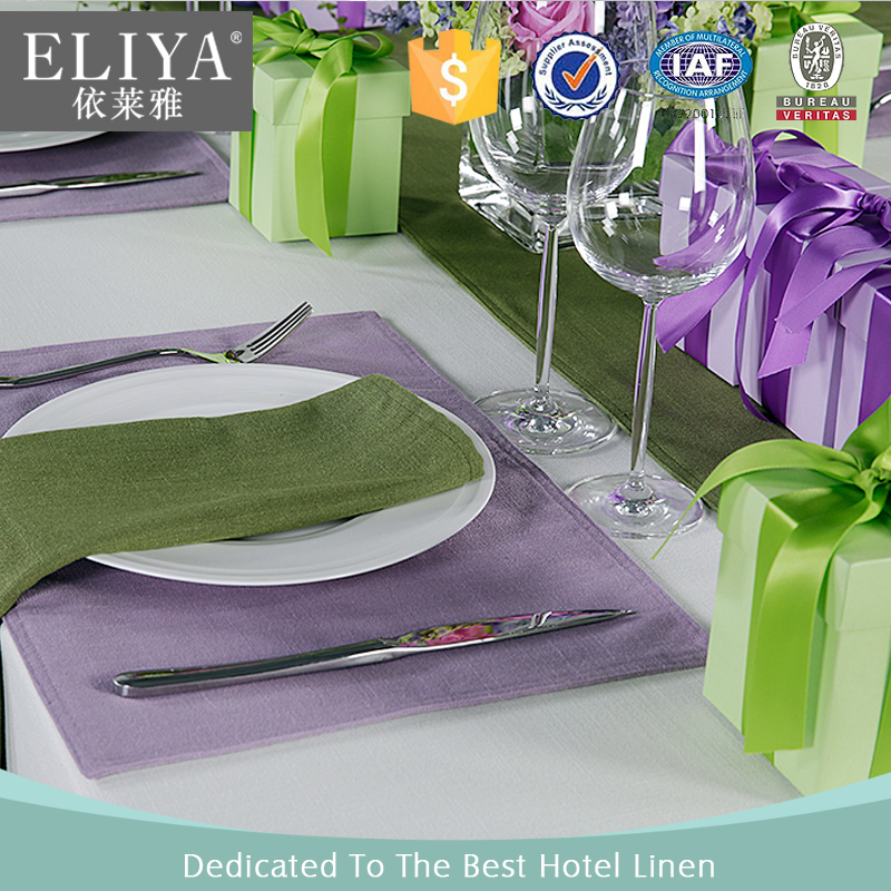 ELIYA Deluxe 5 Star Hotel Restaurent Table Cloth / Table Linen And Napkin