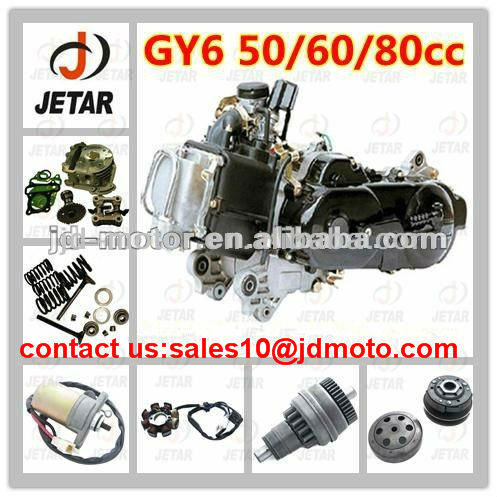 stable quality GY6 50cc 60cc 80cc moto spare part