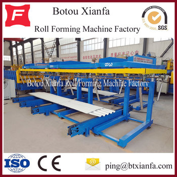 Bo tou CNC Standard Color Steel Tile Auto Stacker
